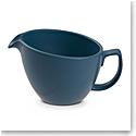 Nambe Orbit Cream Pitcher Aurora Blue