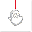 Nambe Santa Head Christmas Ornament