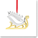 Nambe Sleigh with Tree 2020 Ornament