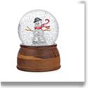 "Nambe Snowman 4.5"" Snowglobe"