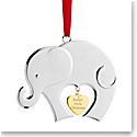 Nambe Baby's First Christmas 2020 Ornament