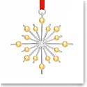 Nambe Metal Annual Snowflake 2021 Ornament