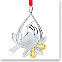 Nambe Metal Twelve Days of Christmas 2021 Ornament, Partridge in a Pear Tree