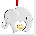 Nambe Metal Baby's First Christmas 2021 Ornament
