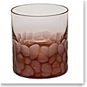 Moser Crystal Pebbles DOF Tumbler, Rosalin, Single