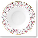 Royal Albert China Rose Confetti, Vintage Formal Rimmed Soup and Salad Bowl