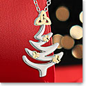 Cashs Ireland, Christmas Tree Pendant Necklace