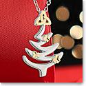 Cashs Ireland, Christmas Tree Pendant Necklace