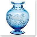 """Moser Crystal 12"""" Bernadette Vase, Limited Edition"""