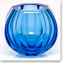 "Moser Crystal Beauty 5.9"" Vase, Aquamarine"