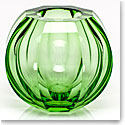 "Moser Crystal Beauty 5.9"" Ocean Green Vase"