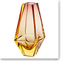 "Moser Crystal City Vase 9.8"" Eldor and Rose"