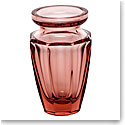 "Moser Crystal Eternity Bud Vase 4.5"" Rosalin"