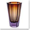 "Moser Purity 11"" Vase Alexandrite Aurora"
