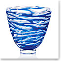 "Moser Crystal 8.9"" Seaweed Vase, Limited Edition"