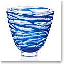 "Moser Crystal 8.9"" Seaweed Vase, Limited Edition"
