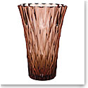 """Moser Crystal Wersin Vase 13.4"""" Rosalin"""