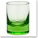 Moser Crystal Whisky Shot Glass 2 Oz. Ocean Green