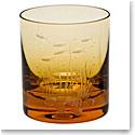 Moser Crystal Whisky D.O.F. 12.5 Oz. Ocean Life #1 - Topaz