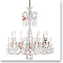 Baccarat Crystal, Zenith Unfocused Chandelier 24 Light