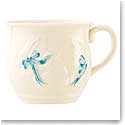 Belleek China Bunny Baby Cup - Blue