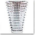 Baccarat Crystal, Eye Oval Large Crystal Vase, Clear