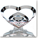 Baccarat Crystal, Hearts of Love (Three Stacked Hearts), Clear