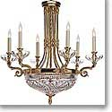 Waterford Crystal, Beaumont 6 Arm Crystal Chandelier, 28""