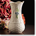 Belleek China Kells Forget Me Not Vase