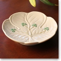 Belleek China Shamrock Candy Dish