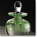 Cashs Art Glass Forty Shades of Green, Spring Perfume Bottle