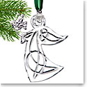 Cashs Ireland, 2018 Angel with Dove Ornament, Annual Edition