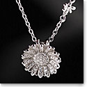 Cashs Sterling Silver Daisy Flower and Bee Pendant Necklace