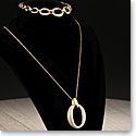 Cashs Ireland Gold Cocktail Necklace and Bracelet Set