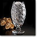 Cashs Ireland, Art Collection Seine Footed Crystal Vase, Limited Edition