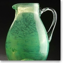 Cashs Art Glass Forty Shades of Green, Medium Pitcher