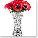 "Cashs Ireland, Crystal Art Collection Annestown 8"" Scalloped Bouquet Vase"