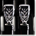 Cashs Ireland, Annestown Crystal Wine Bottle Stopper, Pair