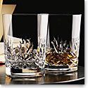 Cashs Crystal Annestown Single Malt Whiskey Glasses, Pair