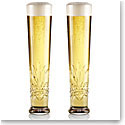 Cashs Crystal Annestown Lager Beer Glasses, 1+1 Free