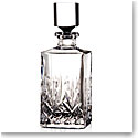 Cashs Crystal Annestown Single Malt Whiskey Square Decanter