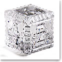 Cashs Ireland, Baby Block Crystal Paperweight