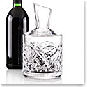 Cashs Ireland, Celtic Ring Crystal Wine Carafe