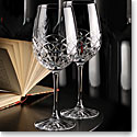 Cashs Crystal Celtic Ring Cabernet, Merlot Wine Glasses, Pair