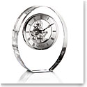 Cashs Ireland, Oval Large Desk Crystal Clock
