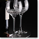Cashs Ireland, Cooper Balloon Red Wine Crystal Glasses, Pair