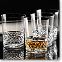 Cashs Crystal Cooper Single Malt Whiskey Glasses, Set of 4