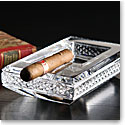 Cashs Ireland, Cooper Cigar Crystal Ashtray, Large