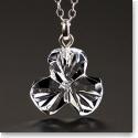 Cashs Ireland, Crystal Shamrock Pendant Necklace