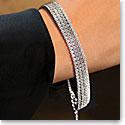 Cashs Ireland, Sterling Silver Diamante Soft Crystal Bracelet